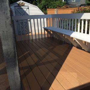 deck staining Chesapeake