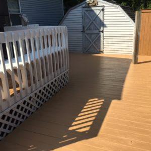 deck staining Virginia Beach